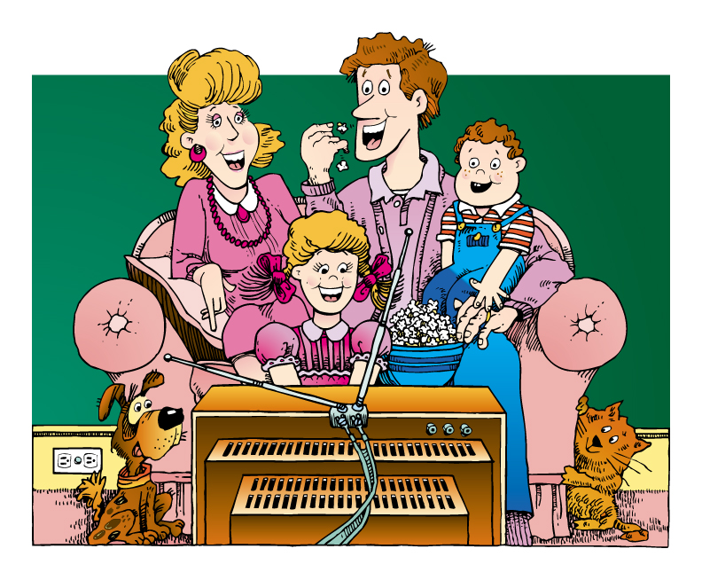 happy, blended family