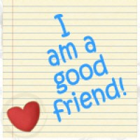 note for I am a good friend
