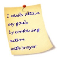 Note for I easily attain my goals
