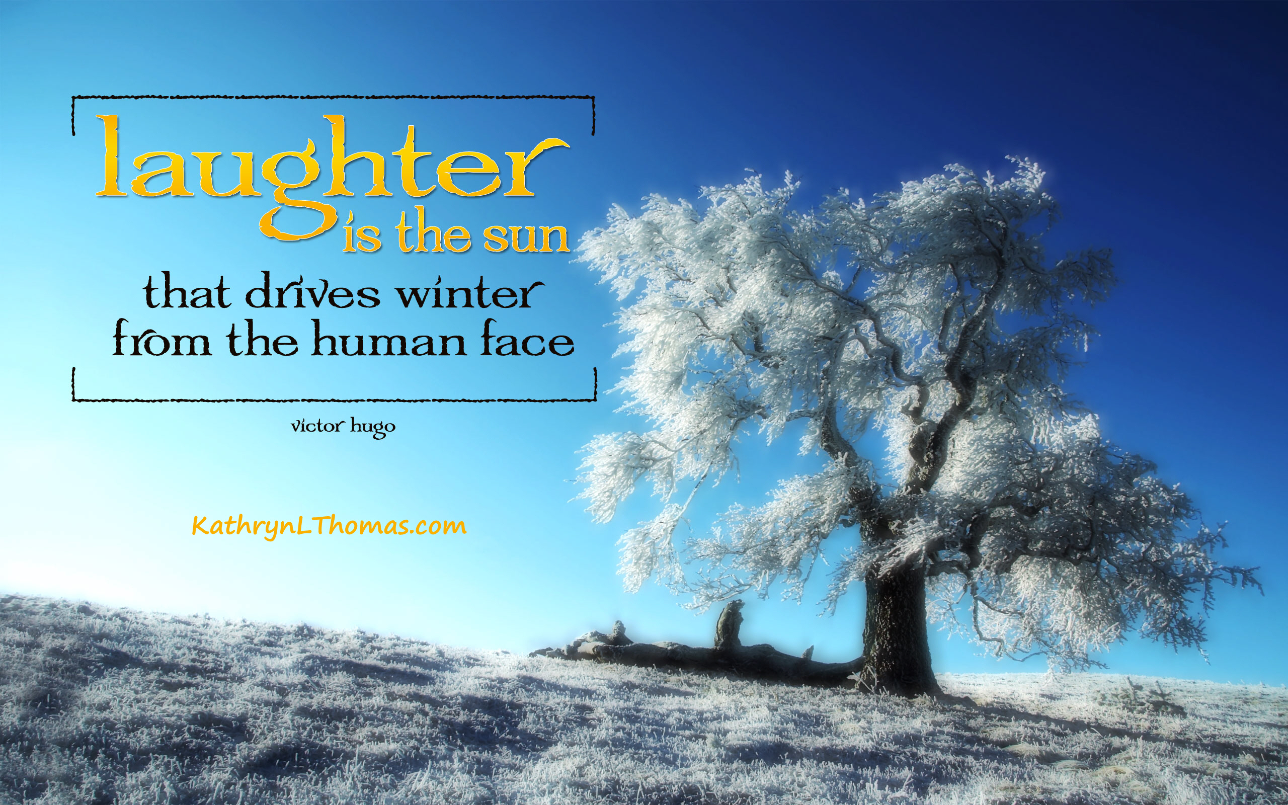 Quote about laughter - Victor Hugo
